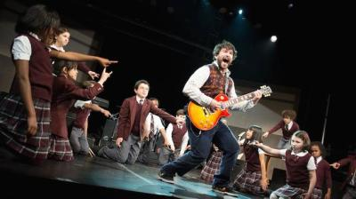 Alex+Brightman+and+the+cast+of+School+of+Rock+by+Timmy+Blupe