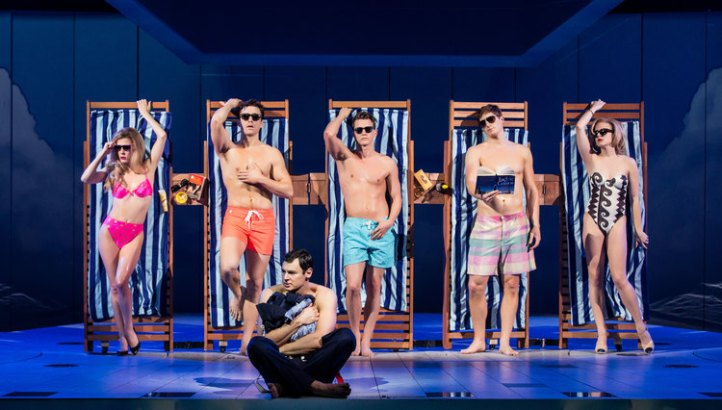 american-psycho-broadway-benjamin-walker-shirtless-beach-scene