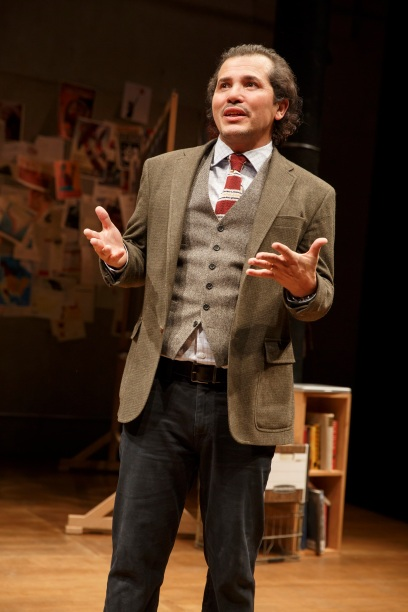 New York Premiere LATIN HISTORY FOR MORONS Written and performed by John Leguizamo Directed by Tony Taccone In a co-production with Berkeley Repertory Theatre  Scenic Design: Rachel Hauck Lighting Design: Alexander V. Nichols Original Music and Sound Des