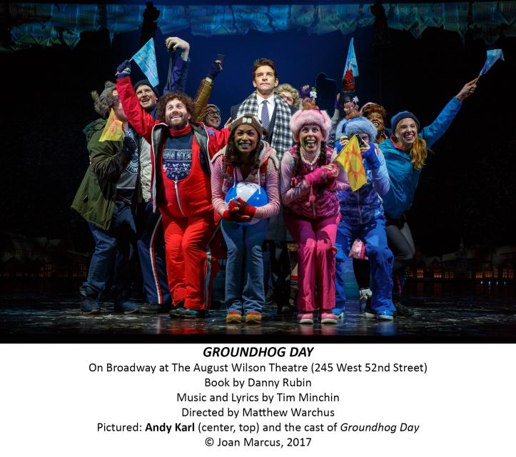 Groundhog Day August Wilson Theatre