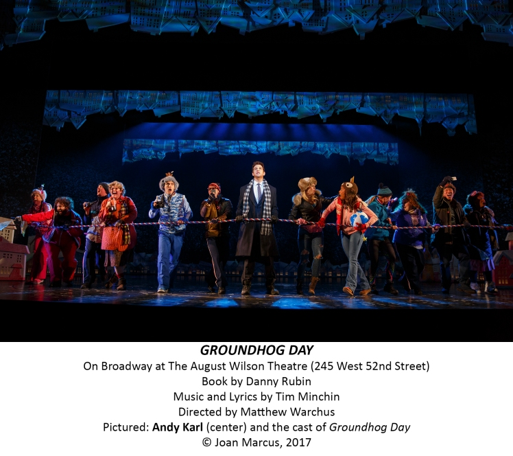 Groundhog Day August Wilson Theatre