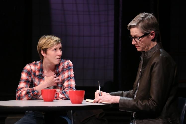 Molly McAdoo & Kelli Simpkins in EST_Sloan's SPILL