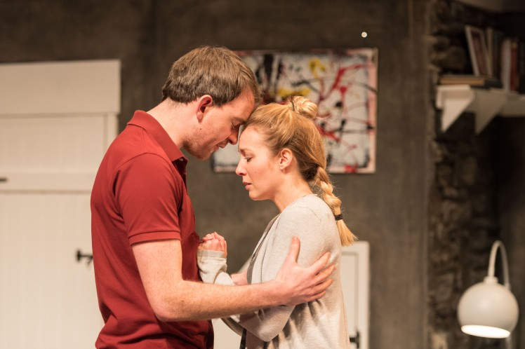 Alastair Whatley as Oliver and Emily Bowker as Emily in INVINCIBLE