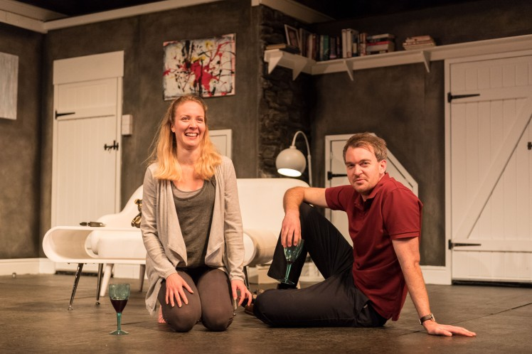 Emily Bowker as Emily and Alastair Whaltley as Oliver in INVINCIBLE