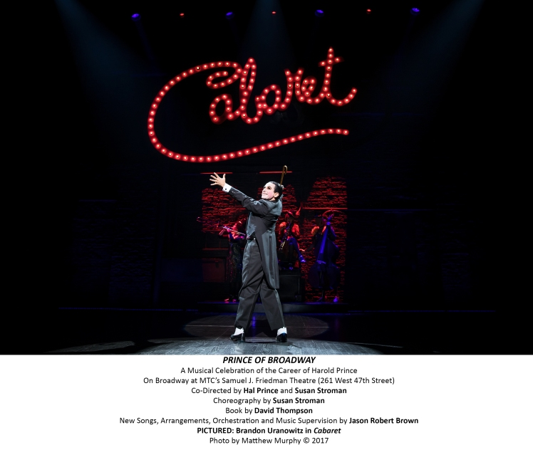 a critique of cabaret a musical by harold prince The original broadway production of cabaret, directed by harold prince, ran an impressive 1,165 performances and won 8 tony awards in the original 1968 london production of cabaret , judi dench starred as sally bowles.