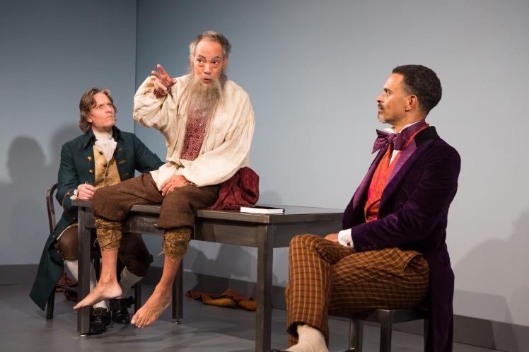 michael laurence, thom sesma and duane boutte in the primary stages production of discord - photo by jeremy daniel-1