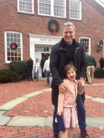Ross and Hazel arrive at Paper Mill Playhouse for Annie
