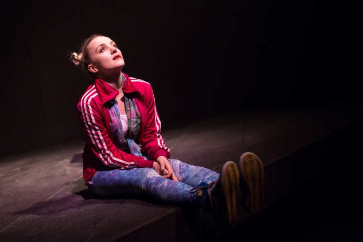 Evanna Lynch in DISCO PIGS at Irish Rep - photos by Jeremy Daniel