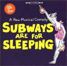 Subways_Are_For_Sleeping_(original_cast_recording_-_album_cover)