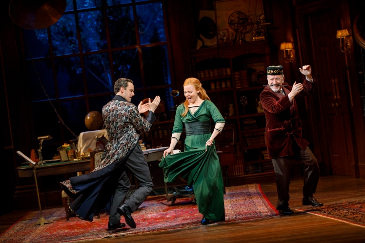 MFL1159 - Harry Hadden-Paton, Lauren Ambrose, and Allan Corduner, credit to Joan Marcus