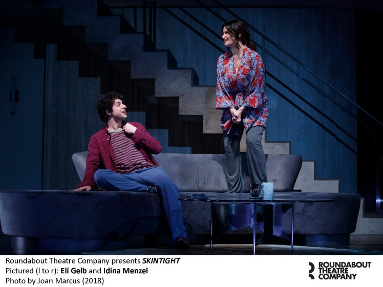 0085r2_Eli Gelb and Idina Menzel in SKINTIGHT, photo by Joan Marcus 2018