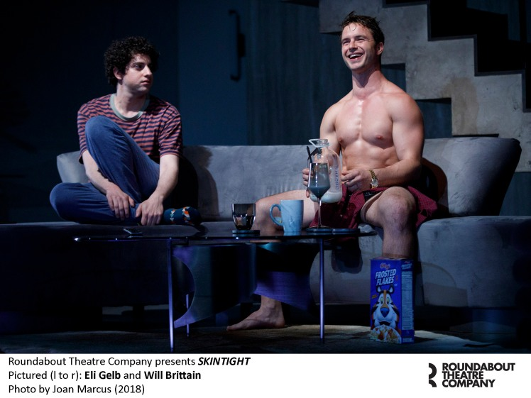 0090r_Eli Gelb and Will Brittain in SKINTIGHT, photo by Joan Marcus 2018