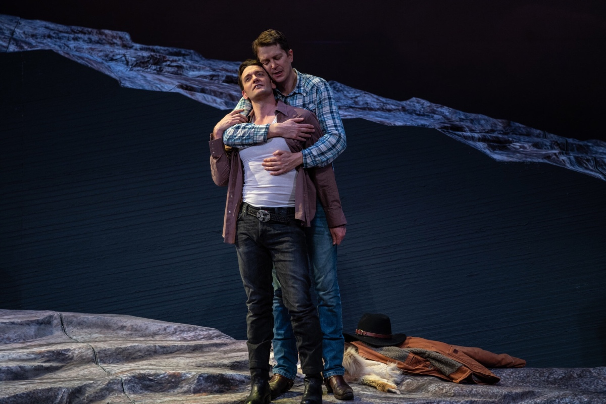 New York City Opera Holds Pride In The Park Event At >> New York City Opera Climbs Brokeback Mountain Bravely Front Mezz