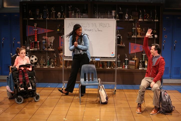 Shannon DeVido, Marinda Anderson and Gregg Mozgala