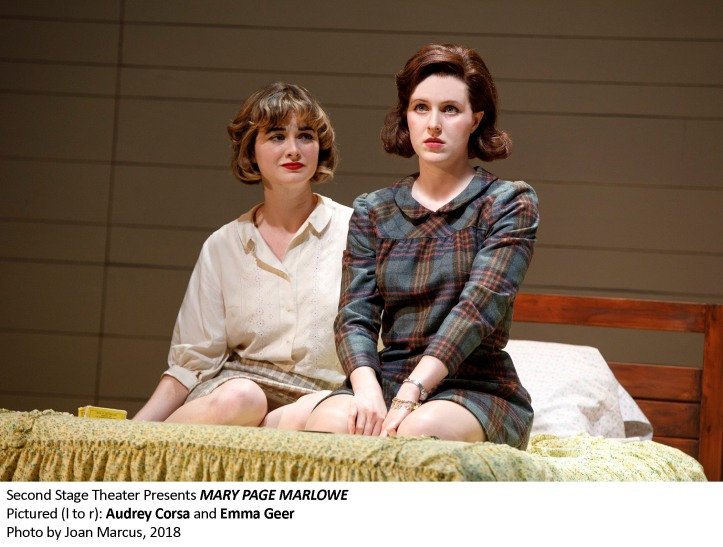 MARY PAGE MARLOWE By TRACY LETTS Directed by LILA NEUGEBAUER With DAVID AARON BAKER, BLAIR BROWN, KAYLI CARTER, AUDREY CORSA, MARCIA DeBONIS, NICK DILLENBURG, RYAN FOUST, TESS FRAZER, EMMA GEER, GRACE GUMMER, MIA SINCLAIR JENNESS, BRIAN KERWIN, TATIANA