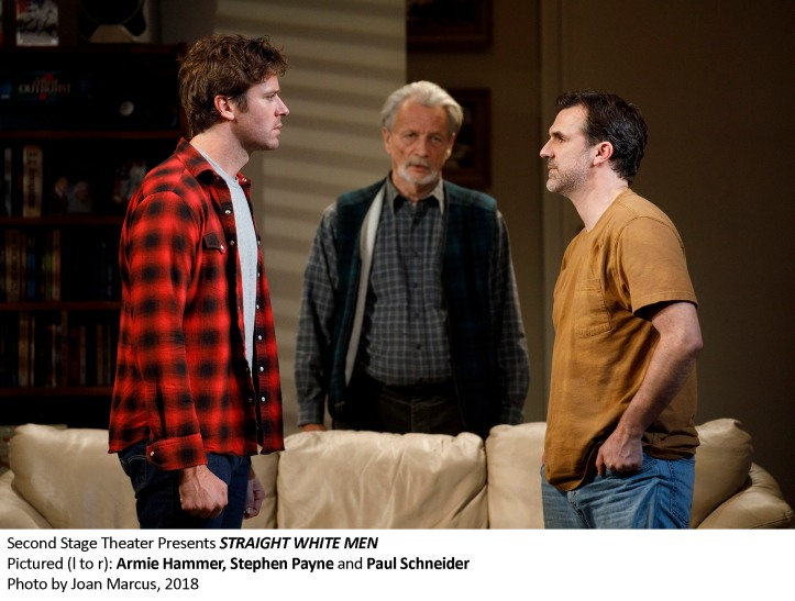 STRAIGHT WHITE MEN By YOUNG JEAN LEE   Directed by ANNA D. SHAPIRO  With KATE BORNSTEIN, JOSH CHARLES, TY DEFOE, ARMIE HAMMER, STEPHEN PAYNE, PAUL SCHNEIDER