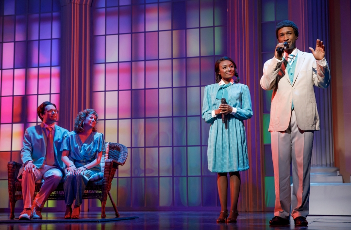 BORN FOR THIS:A NEW MUSICAL  By BeBe Winnans  Charles Randolph_Wright  CAST  Donald Webber Jr. as BeBe Winans  Loren Lott as CeCe Winans  Kirsten Wyatt as Tammy Faye Bakker  Chaz Pofahl as Jim Bakker  Nita Whitaker as Mom Winans  Milton Craig Nealy as Po