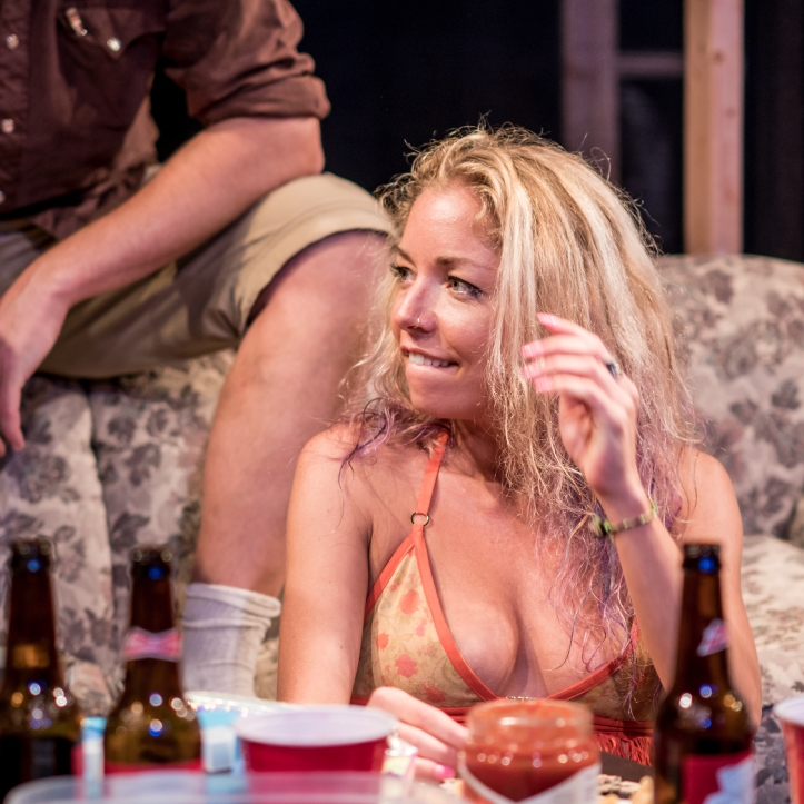 Lacy Marie Meyer in The Collective NY production of HURRICANE PARTY - photo by Austin Donohue