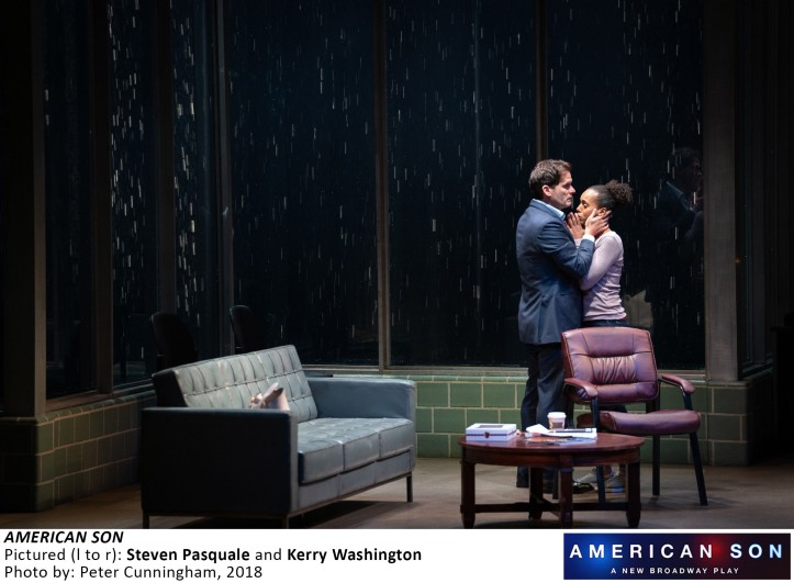 8615_Steven Pasquale, Kerry Washington in AMERICAN SON, Photo by Peter Cunningham, 2018