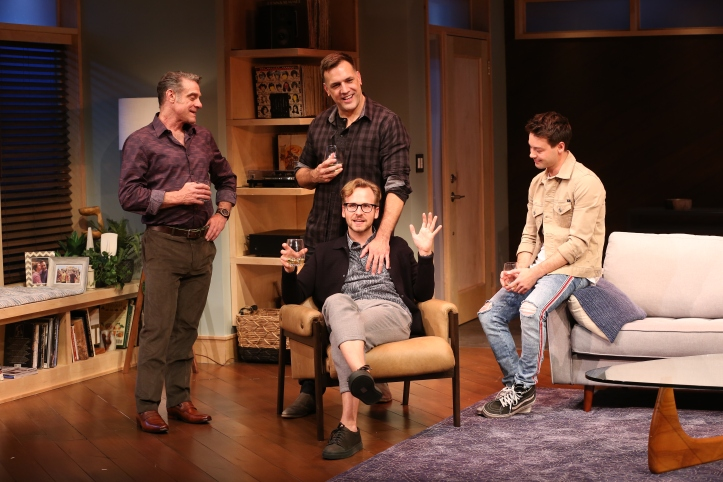Anna Holbrook, Matthew Montelongo and Ryan Spahn. Photo by Carol Rosegg (2)