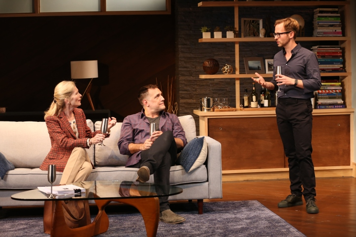 Anna Holbrook, Matthew Montelongo and Ryan Spahn. Photo by Carol Rosegg