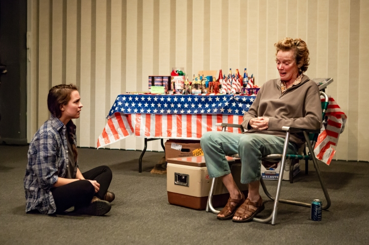 Leah Karpel and Kristin Griffith in LEWISTON, part of LEWISTON _ CLARKSTON at Rattlestick Playwrights Theater - Photo by Jeremy Daniel (4)