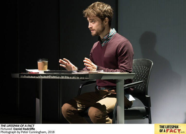 6895 The Lifespan of a Fact, Pictured, Daniel Radcliffe, Photograph by Peter Cunningham, 2018