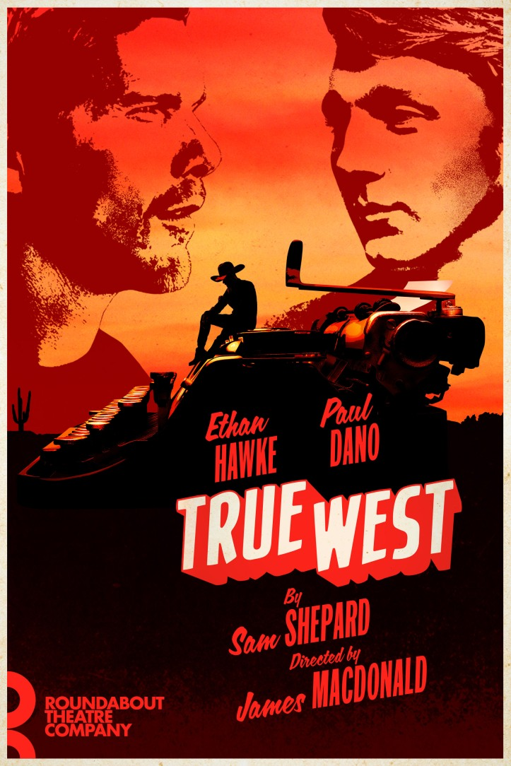 True West - Key Art with billing