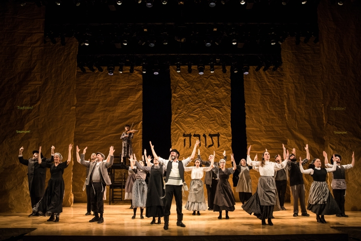 The company of Fiddler on the Roof in Yiddish(c) Matthew Murphy