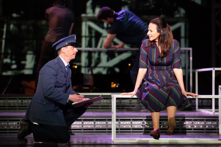 03_Christian Borle and Mandy Gonzalez_Photo by Jeremy Daniel