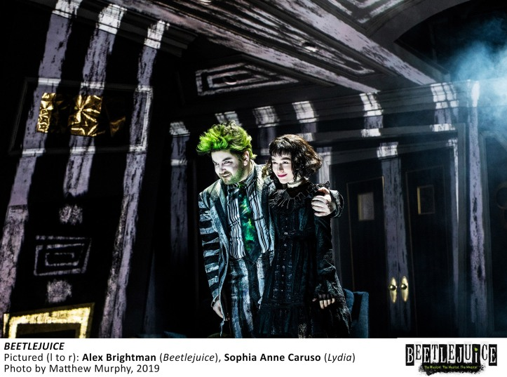 [15856]_ALEX BRIGHTMAN and SOPHIA ANNE CARUSO in BEETLEJUICE, Photo by Matthew Murphy, 2019