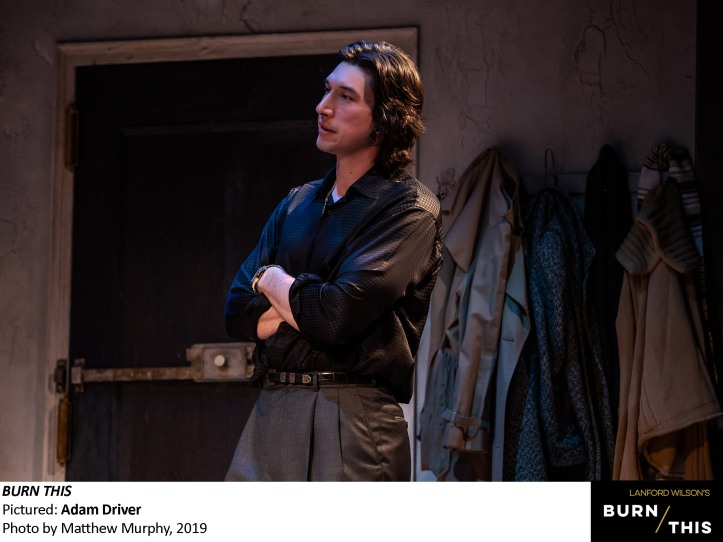 3 0917_Adam Driver in BURN THIS, Photo by Matthew Murphy, 2019