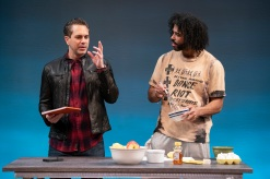 White Noise By Suzan-Lori Parks Directed By Oskar Eustis David Diggs Sheria Irving Thomas Sadoski Zoe Winters