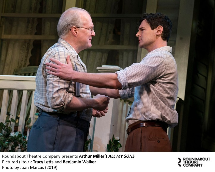 0207r_Tracy Letts and Benjamin Walker in Arthur Miller's ALL MY SONS, Photo by Joan Marcus 2019