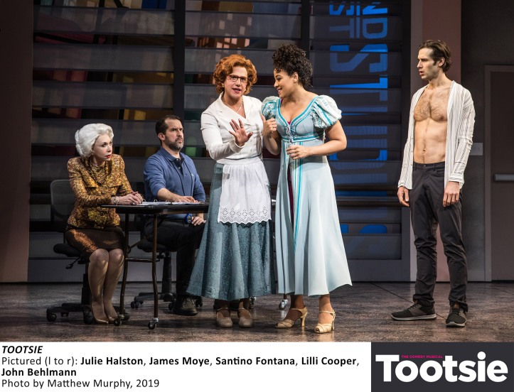 [3964]_HALSTON, MOYE, FONTANA, COOPER, BEHLMANN in TOOTSIE, Photo by Matthew Murphy, 2019