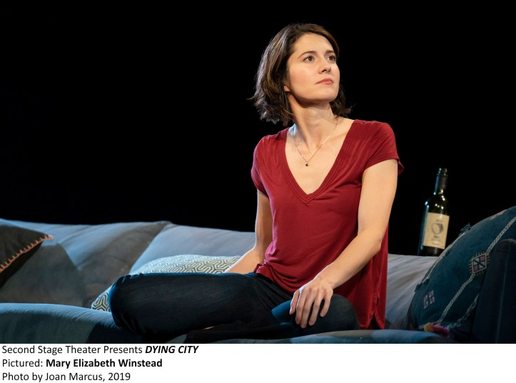 DYING CITY Written & Directed by CHRISTOPHER SHINN With MARY ELIZABETH WINSTEAD & COLIN WOODELL