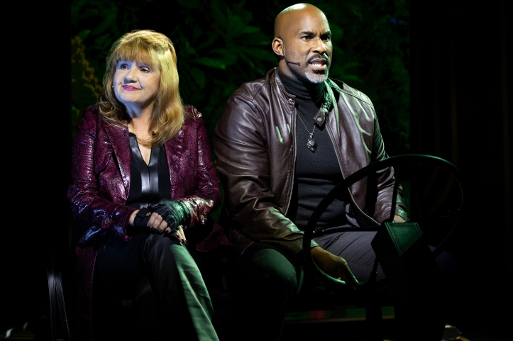 12 - Annie Golden & Alan H. Green in Broadway Bounty Hunter (c) Matthew Murphy