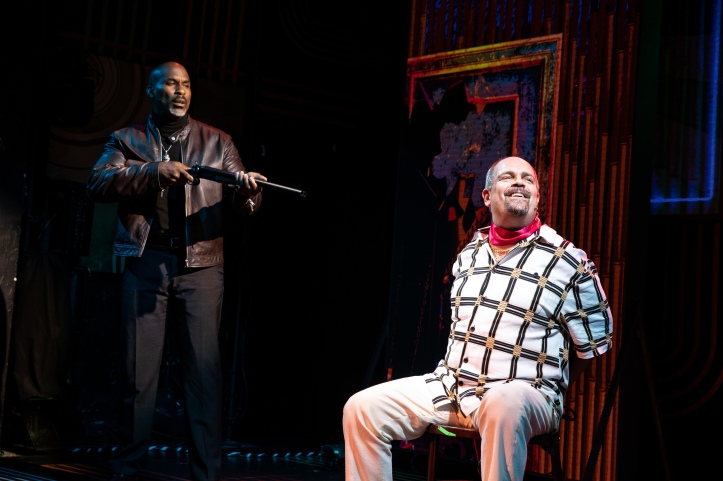 17 - Alan H. Green & Brad Oscar in Broadway Bounty Hunter (c) Matthew Murphy.