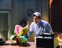 9129 - Jonathan Groff and Audrey II in Little Shop of Horrors (c) Emilio Madrid-Kuser
