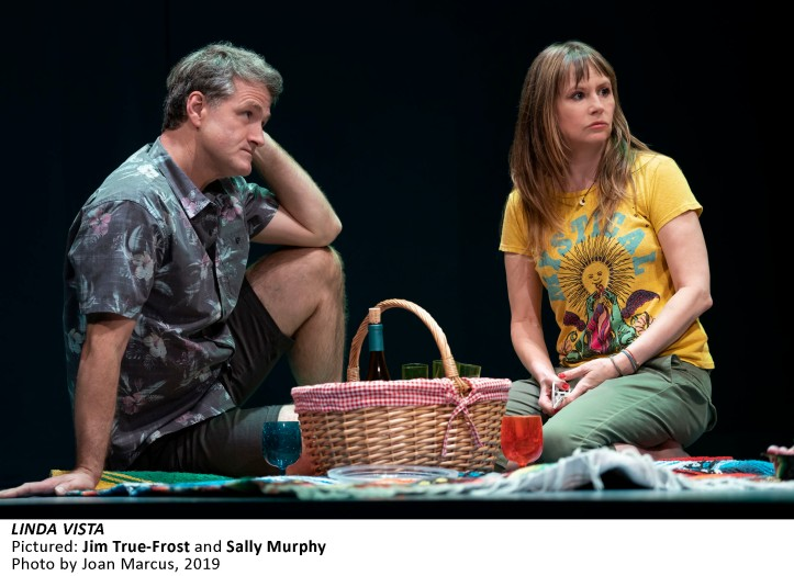STEPPENWOLF'S PRODUCTION OF LINDA VISTA BY TRACY LETTS DIRECTED BY DEXTER BULLARD WITH IAN BARFORD, SALLY MURPHY, CAROLINE NEFF, CHANTAL THUY, JIM TRUE-FROST, CORA VANDER BROEK, TROY WEST