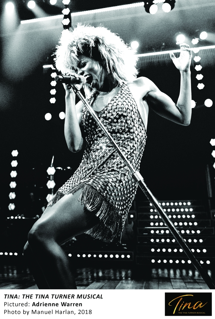 1_Adrienne Warren as Tina Turner, Photo by Manuel Harlan, 2018