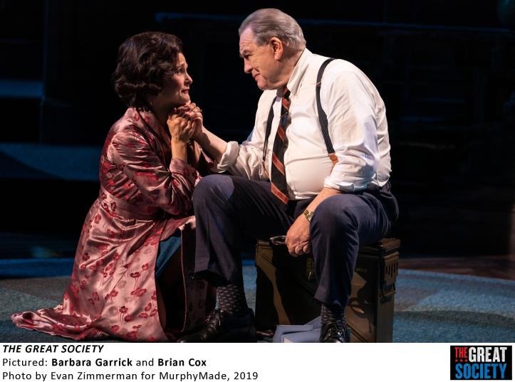 2769 Barbara Garrick and Brian Cox in THE GREAT SOCIETY