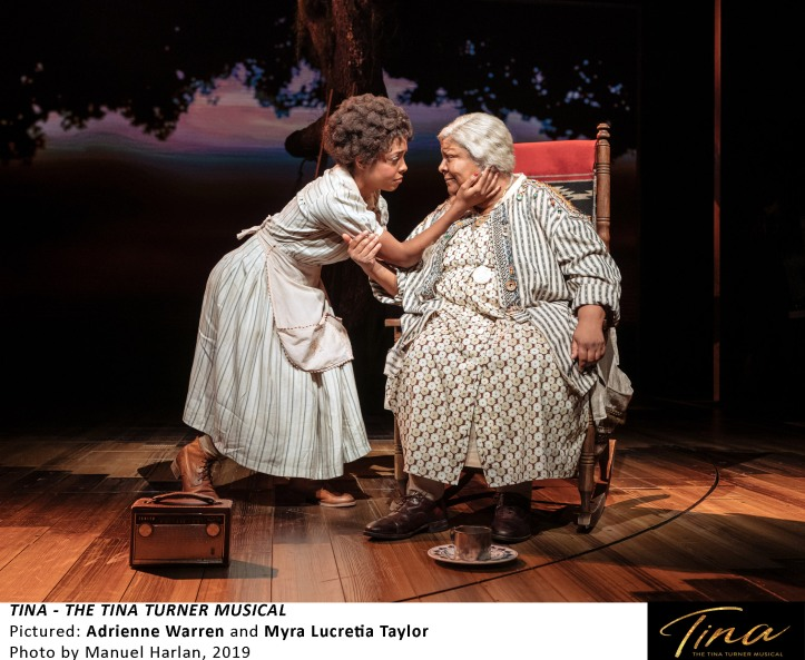 [TTM SetUp-041] Adrienne Warren and Myra Lucretia Taylor in TINA - THE TINA TURNER MUSICAL, Photo by Manuel Harlan, 2019