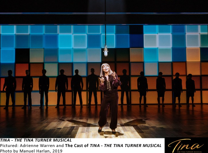 [TTM SetUp-183] Adrienne Warren and The Cast of TINA - THE TINA TURNER MUSICAL, Photo by Manuel Harlan, 2019
