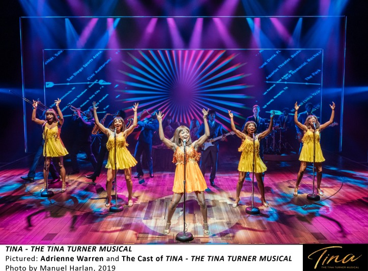 [TTM SetUp-] Adrienne Warren and the cast of TINA - THE TINA TURNER MUSICAL, Photo by Manuel Harlan, 2019