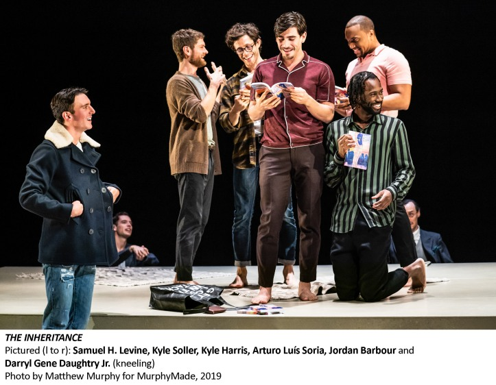 [1069_v002] Samuel H. Levine, Kyle Soller, Kyle Harris, Arturo Luís Soria, Jordan Barbour and Darryl Gene Daughtry Jr., Photo by Matthew Murphy for MurphyMade, 2019