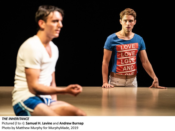 [1577_v006] Samuel Levine and Andrew Burnap in THE INHERITANCE, Photo by Matthew Murphy for MurphyMade, 2019