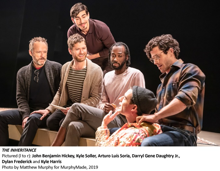 [3696_v003] John Benjamin Hickey, Kyle Soller, Arturo Luís Soria, Darryl Gene Daughtry Jr., Dylan Frederick and Kyle Harris, Photo by Matthew Murphy for MurphyMade, 2019