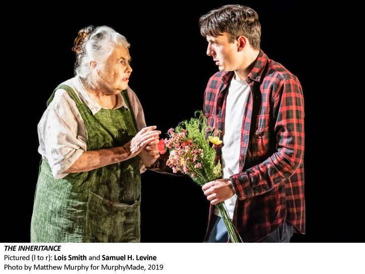 [5452_v003] Lois Smith and Samuel H. Levine in THE INHERITANCE, Photo by Matthew Murphy for MurphyMade, 2019