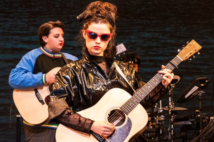 Max William Bartos & Zara Devlin in SING STREET at New York Theatre Workshop, Photo by Matthew Murphy